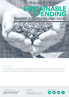 Sustainable Spending: Income Strategies and Rates