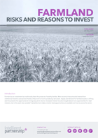 Farmland: Risks and Reasons to Invest