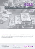 Gold: Risks and Reasons to Invest