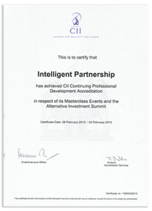 CII CPD Accreditation Certificate (small)