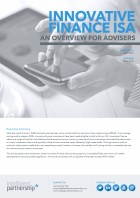 Innovative Finance ISA: An Overview for Advisers