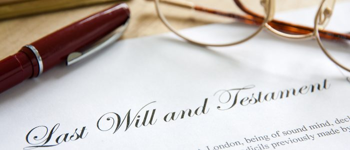 Does your client have a will?